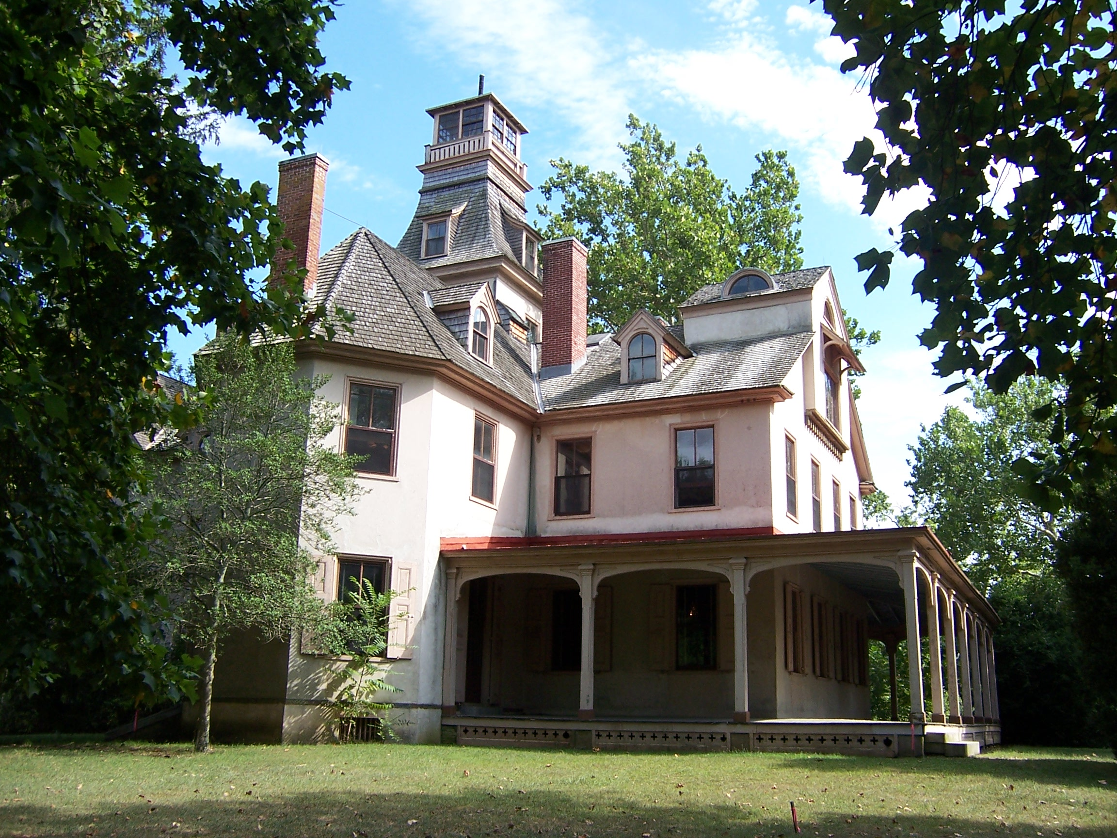 The mansion at Batsto State Park