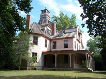 The mansion at Batsto Village and many other buildings in this historic 19th century town are available to tour.