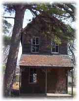 The old school house at Double Trouble State Park